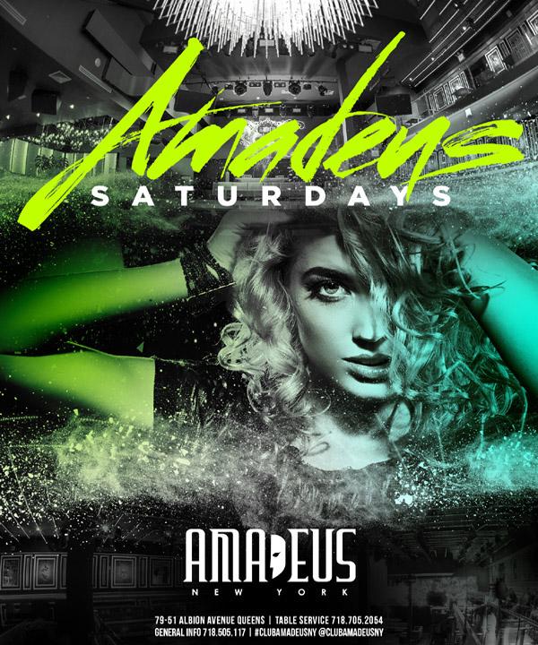 Amadeus Nightclub  Saturday Nights in Queens